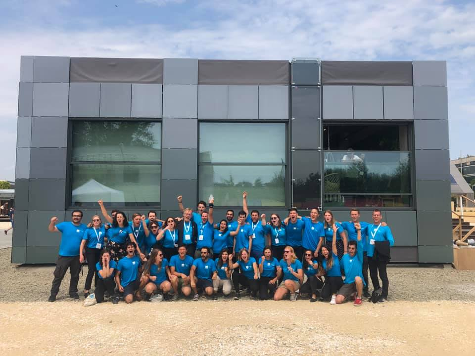Fotofinish bij Solar Decathlon 2019
