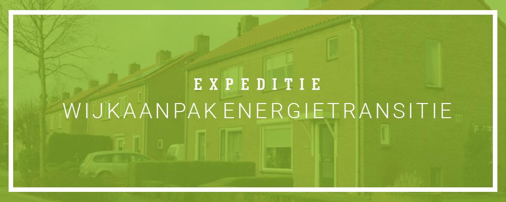DG Expeditie Wijkaanpak Energietransitie