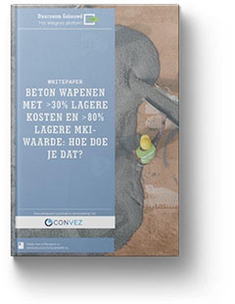 Whitepaper beton wapenen met 30% lagere kosten en 80% lagere MKI-waarde: hoe doe je dat?