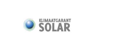 Logo Klimaatgarant Solar