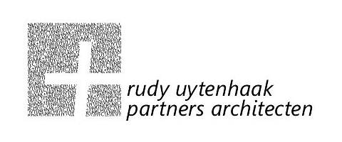 Logo rudy uytenhaak + partners architecten