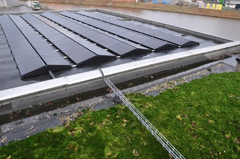 100% duurzame stroom met eigen zonnecentrale