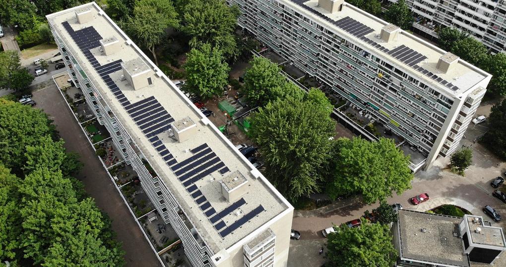 140 appartementen in Den Haag van label G naar B