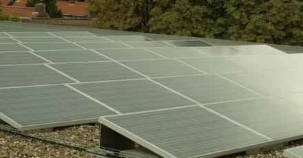 1.400 zonnepanelen op Brabantse hogeschool