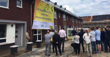 16 energiezuinige woningen opgeleverd in Borne