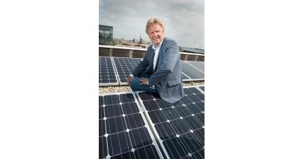 212 zonnepanelen op provinciekantoor