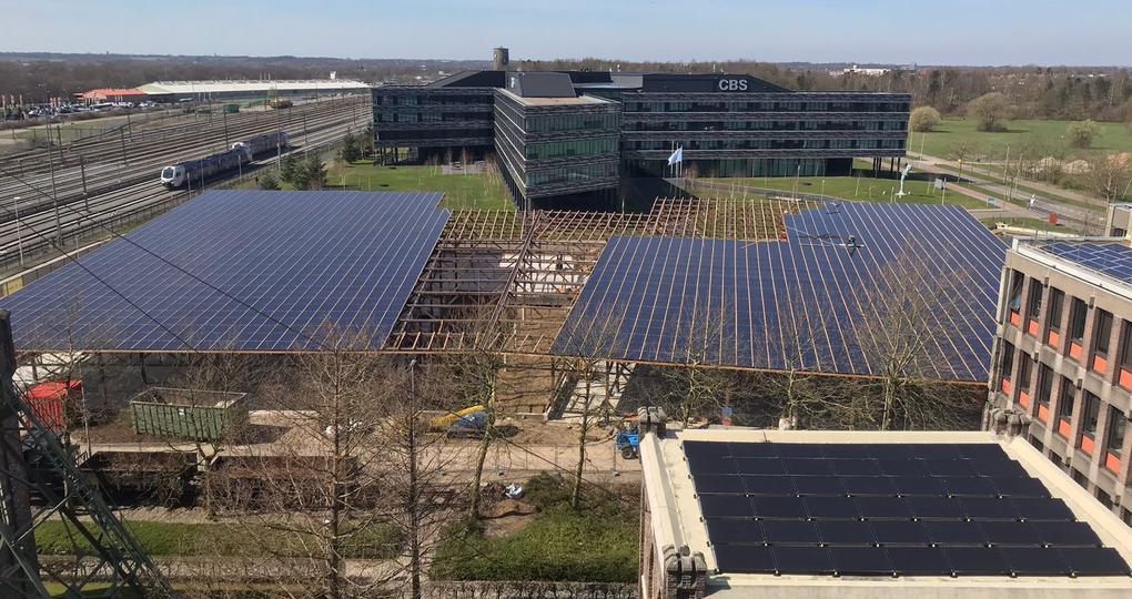 Voormalig CBS-gebouw Heerlen krijgt3500 zonnepanelen
