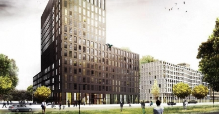 3D-bouwsysteem zorgt voor gebouw van 16 meter hoog
