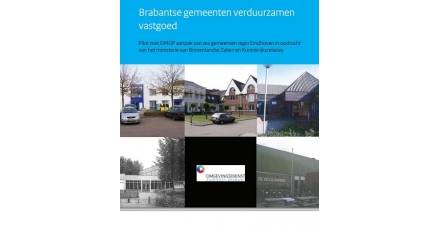 6 Brabantse gemeenten verduurzamen vastgoed