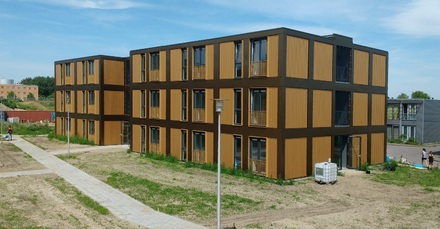 72 flexibele starterswoningen in Almere Stad