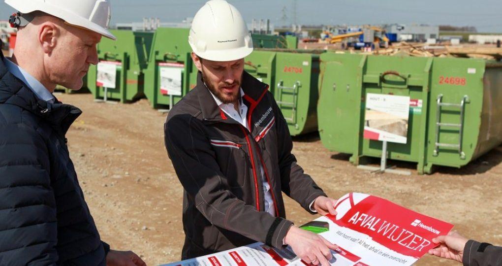 Afval op de bouwplaats: minder produceren = minder afvoeren