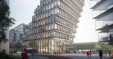 Amsterdam selecteert duurzaam ontwerp voor 'Crossover'