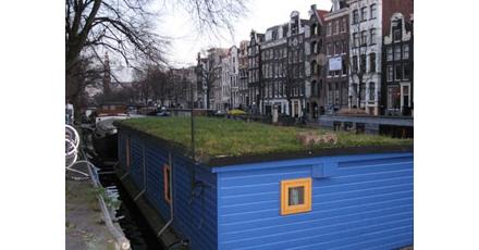 Amsterdam wil groen dak op gemeentegebouw