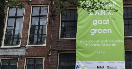Amsterdamse studentenvereniging sluit gaskraan