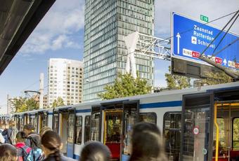 Amsterdamse Zuidas legt duurzame lat steeds hoger