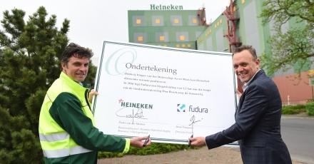 Biogasleiding voor Bossche bierbouwerij