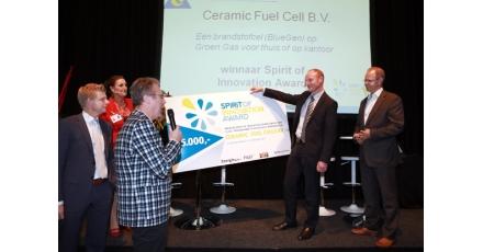 BlueGen en Revolto winnende innovaties op Energie 2012