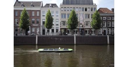 Boot op zonne-energie
