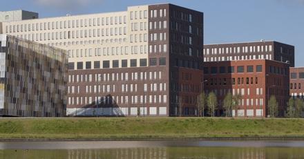 Ziekenhuis met slim milieuscherm