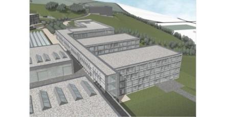 Bouw van agrarische school in Luxemburg