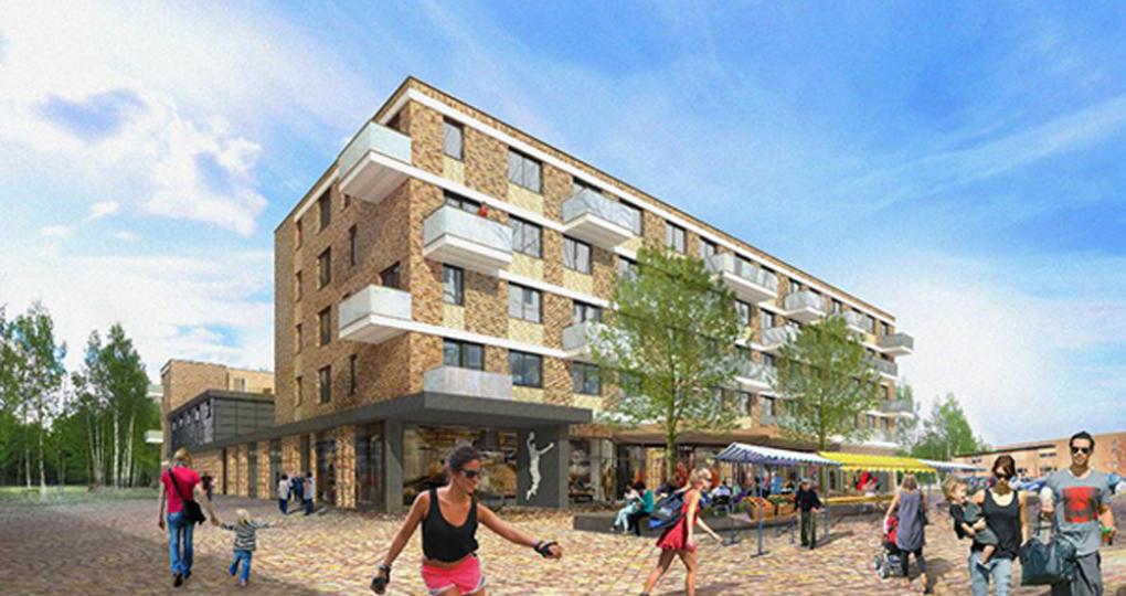 Bouw van duurzaam sport- en wooncomplex Westwijk in Vlaardingen gestart