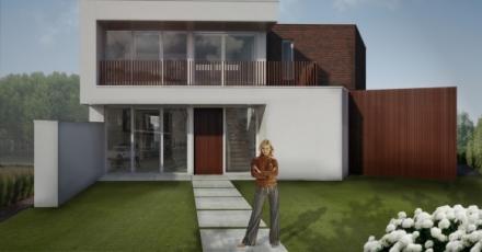 Bouw van meest duurzame woning in Veldhoven