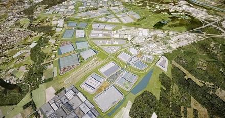 Bouw- en woonrijp maken van Greenport Venlo
