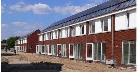 Bouw energienotaloze woningen in Arnhem bijna voltooid