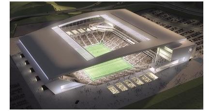 Brazilië en Nederland spelen in futuristisch stadion