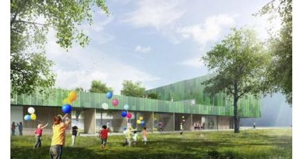 Brede school Het Dok met drie duurzaamheidsthema's