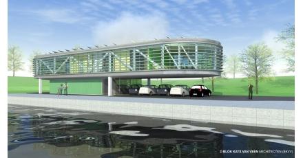 Brugbedieningscentrum voorziet in eigen energiebehoefte