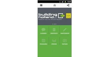 Building Holland-app voor Apple en Android
