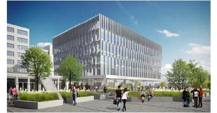 Campus Woudestein krijgt multifunctioneel universiteitsgebouw