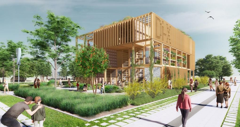 Circulair bouwconcept geselecteerd voor Rijksoverheidspaviljoen op Floriade