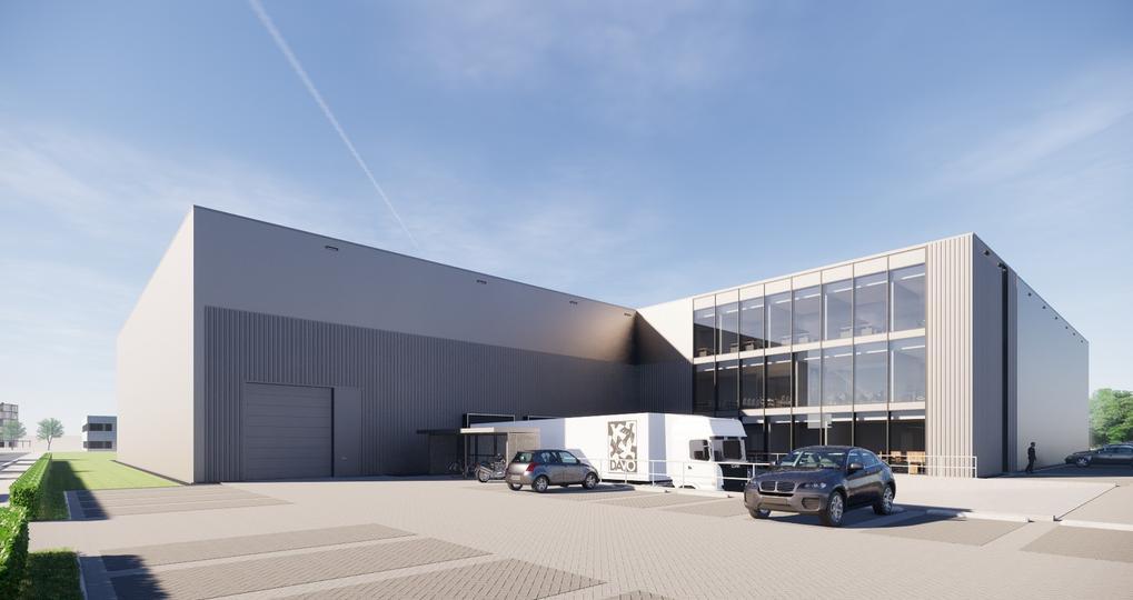 Circulaire staalconstructie voor bedrijfsgebouw in Deventer