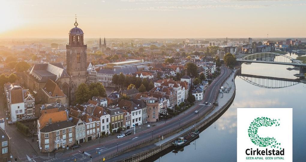 Cirkelstad Deventer maakt een vuist