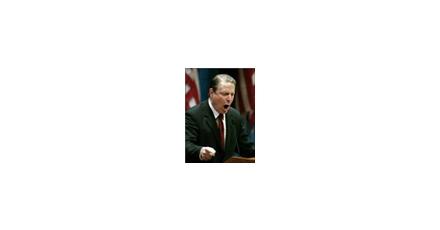 Clinton Global Initiative: Verontruste Al Gore ontploft op het podium