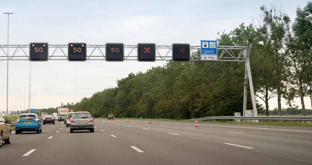 CO2-reductie bij matrixborden boven wegen? Het kan!