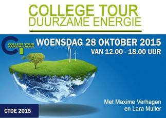 College Tour Duurzame Energie met Maxime Verhagen