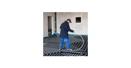 Correctie voor laminaire stroming in vloerverwarming