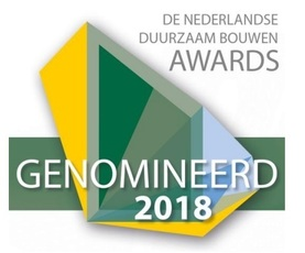 De genomineerden van de Duurzaam Bouwen Awards: 'Meest duurzame project'