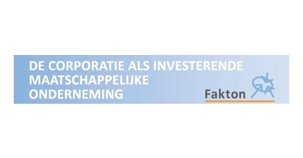 'De corporatie als investerende maatschappelijke onderneming'