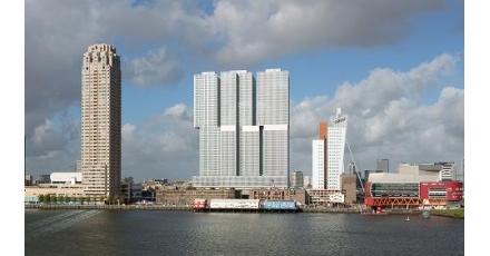 De Rotterdam is Best Tall Building Europe