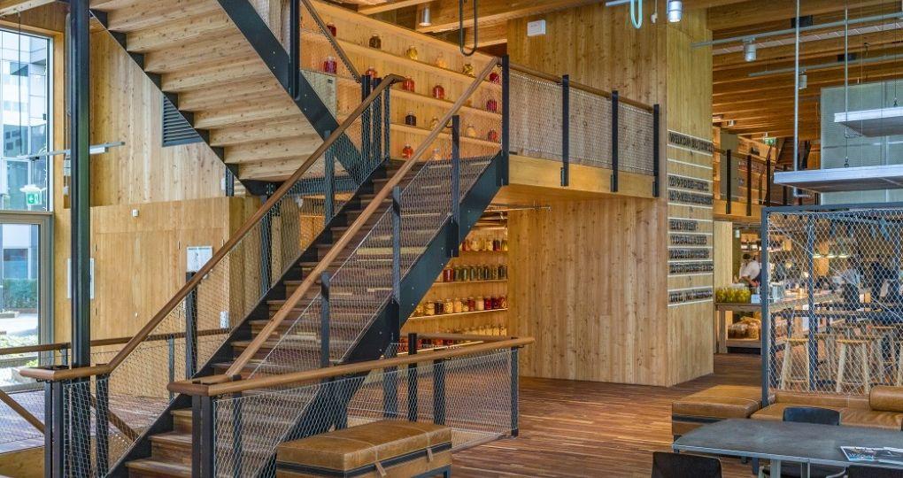 DERIX neemt gebruikte houtelementen terug om circulair te bouwen
