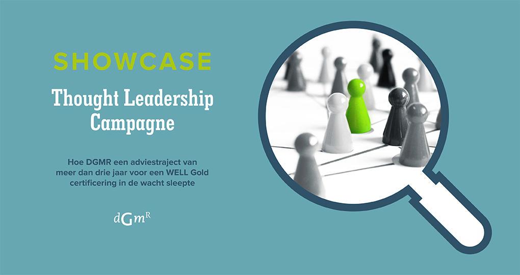 Succesvolle onderscheiding als Thought Leader