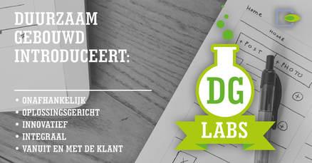 Duurzaam Gebouwd introduceert: DG Labs