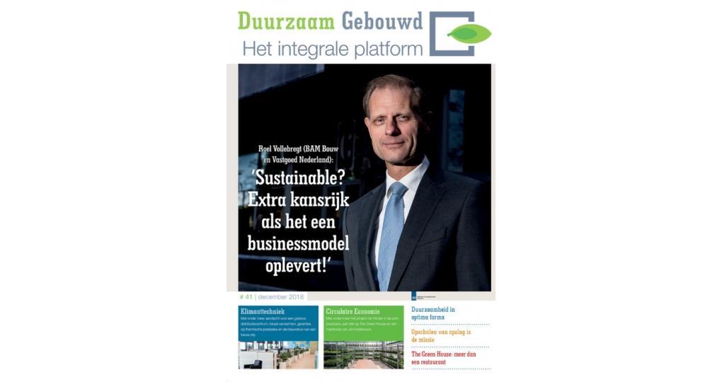 Duurzaam Gebouwd Magazine #41: Klimaattechniek en Circulaire Economie