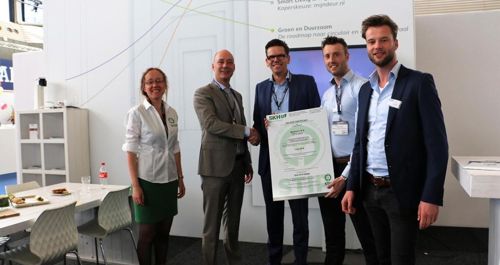 Duurzaam Gebouwd-partner gaat als eerste voor STIP-certificering