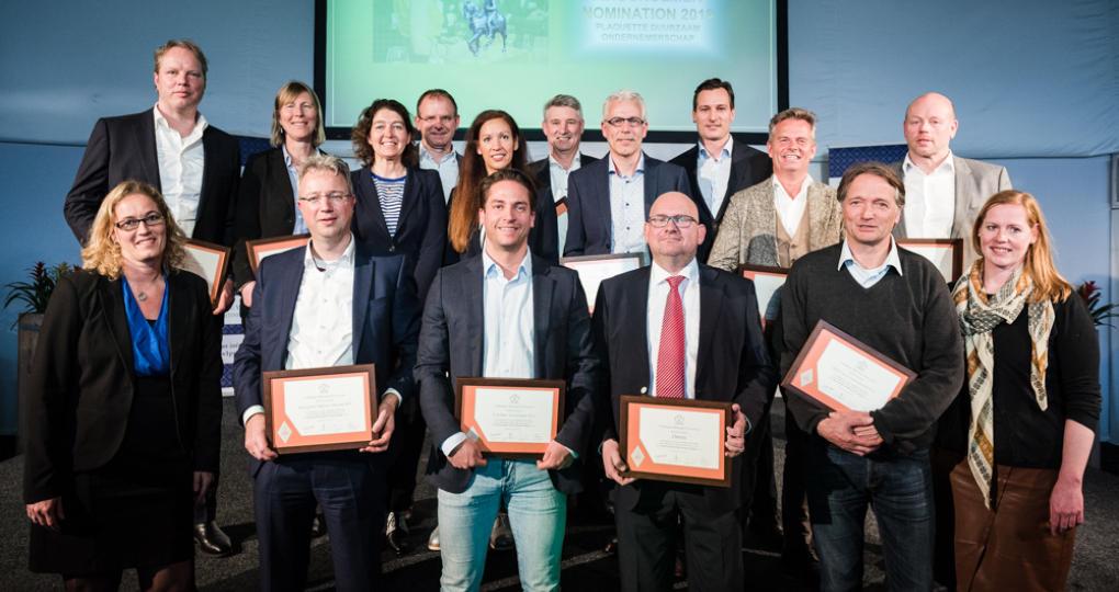 Duurzaam Gebouwd-partners genomineerd voor Koning Willem I Plaquette