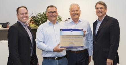 Duurzaamheid en innovatie beloond met award